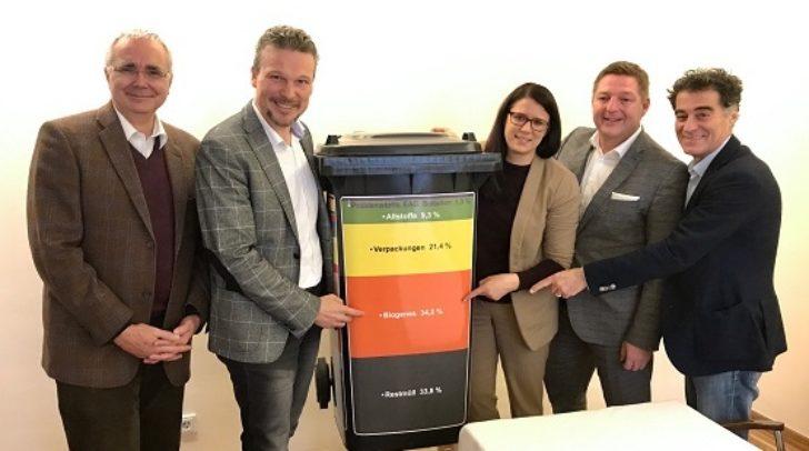 Gemeinsame Präsentation des aktuellen Kärntner Abfallanalyse-Berichtes.