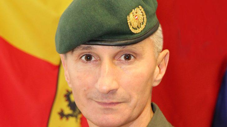 Oberst Stefan Lekas ist neuer stellvertretender Militärkommandant.