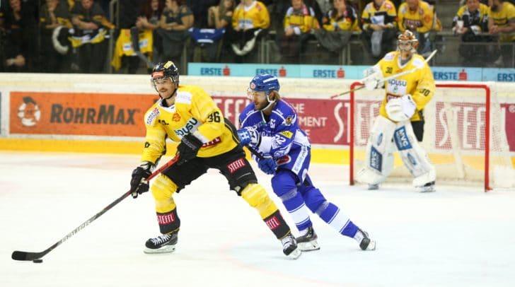 Die Adler gingen gestern gegen die Vienna Capitals als Sieger vom Eis - diesen Erfolg möchten sie fortsetzen.