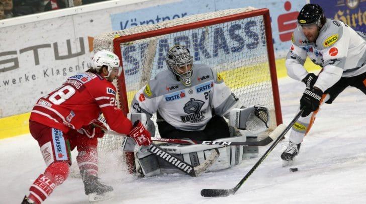 Morgen tritt der KAC am eigenen Eis gegen den EC Dornbirn an.