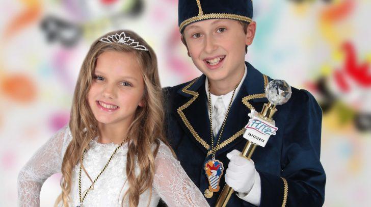 Nahla Runda und Philipp Putz sind das Kinderprinzenpaar 2020.