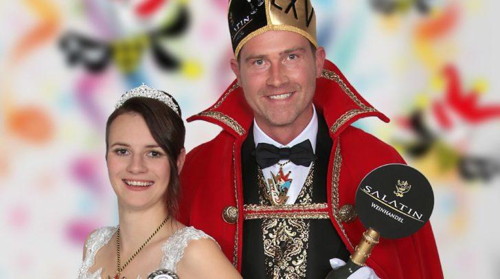 Hannah Widnig und Roland Augustin waren das Prinzenpaar 2020. Die Verkündung des neuen Prinzenpaares wird heuer etwas anders ablaufen.