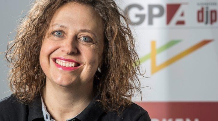 Jutta Brandhuber ist Kärnten-Geschäftsführerin der GPA-djp.