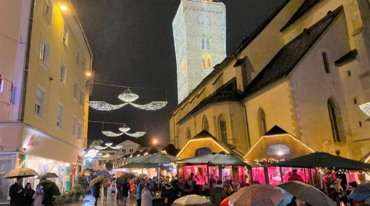 Der Villacher Advent ist einer der beliebtesten Weihnachtsmärkte Kärntens.