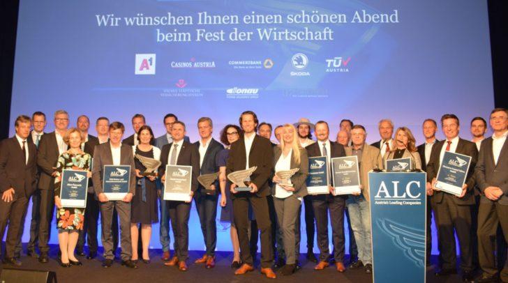 Eröffnung der 21. Austria's Leading Companies-Preisverleihung.