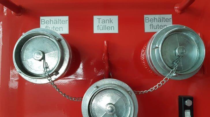 Laut der ÖVP Klagenfurt wären mittlerweile sogenannte Löschcontainer für Feuerwehren verfügbar.