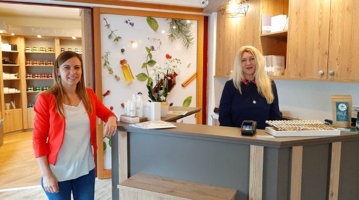 Natürliche Rohstoffe aus aller Welt im Shop bei Anna Maria Zwitter und Margit Konrad