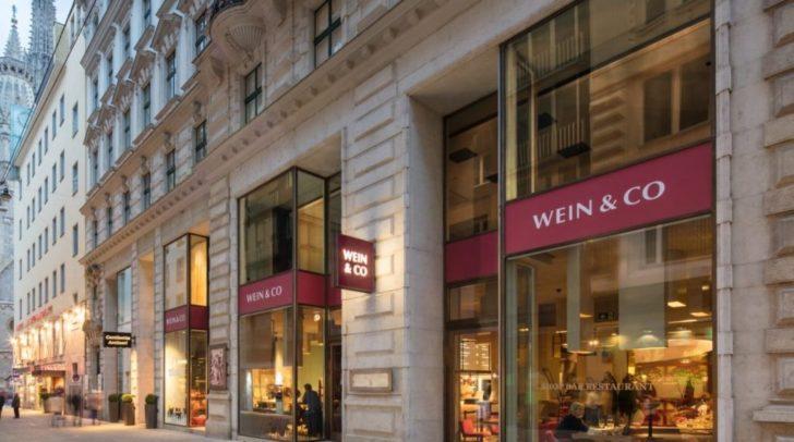Startschuss: Die Pläne für einen neuen Wein & Co Shop in Villach wurden auf der Amtstafel der Stadt Villach veröffentlicht. So sieht der Flagshipstore in Wien aus.