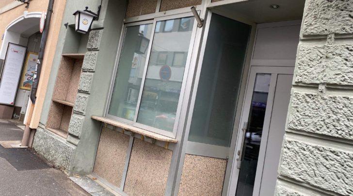 Hier wird demnächst die Orient Food Bar ihre Türen öffnen.