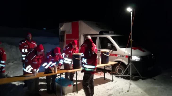 220 Einsatzkräfte waren an der Suchaktion beteiligt.