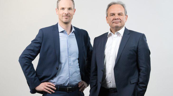 Die Vorstände – Dr. Josef Fiala und Mag. Hartwig Hufnagl