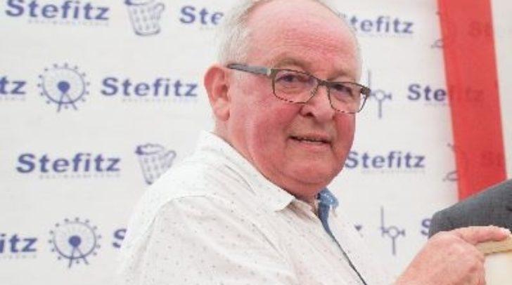 Karl Bodner bei der Landeswappen Verleihung im Jahr 2017.