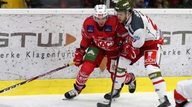 Bereits am 24. November 2019 spielte der KAC gegen den HCB Südtirol.