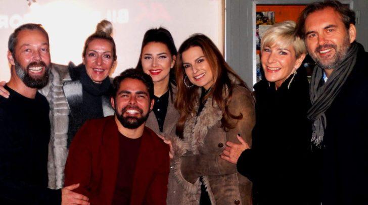 Am Bild: Andreas Moertl, Claudia Schmoelzer, Daniel Torres, Julia Maria, Bettina Assinger, Claudia Ebner und Christian Schmoelzer.