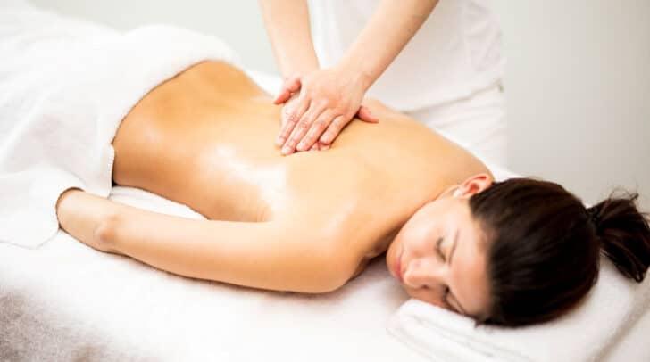 Vor allem die Massagen, lassen einem Alltagsstess sofort vergessen…