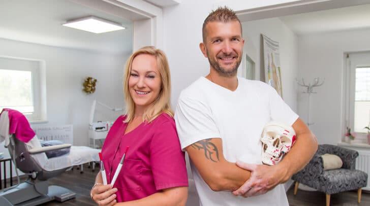 Natalia und ihr Mann Roland Schabus sind um euer Wohlergehen sehr bemüht.