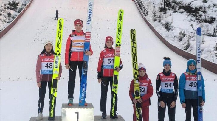 Sophie Sorschag holte den Sieg in Norwegen.