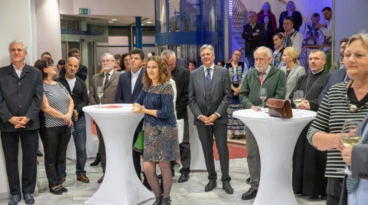 Die Feier des rumänischen Nationalfeiertags im Honorarkonsulat von Rumänien in Klagenfurt.