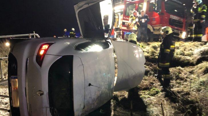 Am Mittwoch ereignete sich ein schwerer Verkehrsunfall auf der B92 Görtschitztal Straße.