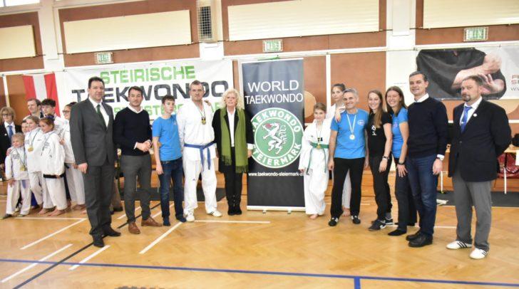 Die Kärntner holten sich gleich viermal Gold bei den Steirischen Taekwondo Landesmeisterschaften.