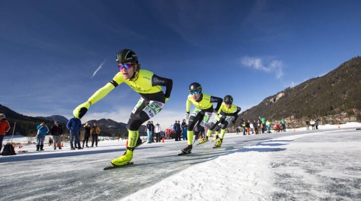 Der sportliche Höhepunkt ist das 200 Kilometer-Rennen der Profis.