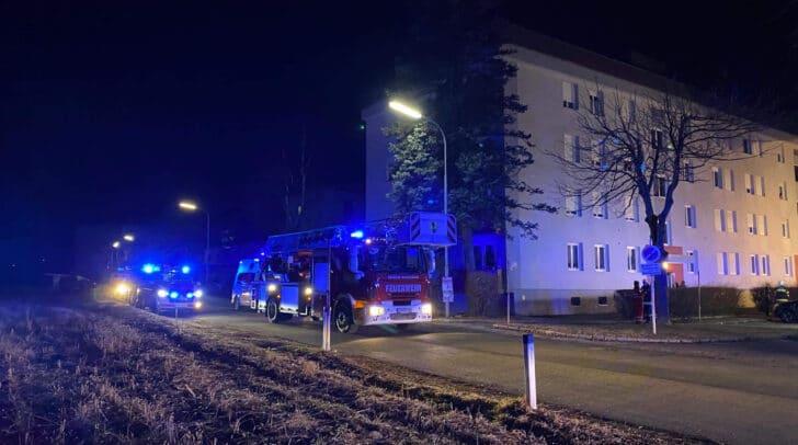 Mehrere Feuerwehren sind aktuell vor Ort.