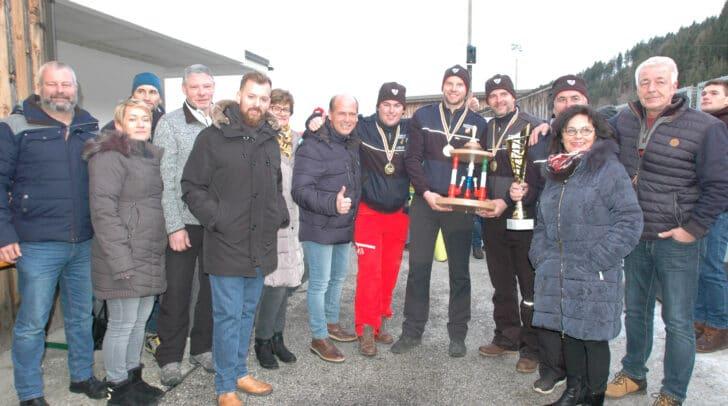 Den Sieg holte sich eine Mannschaft der FF Finkenstein.