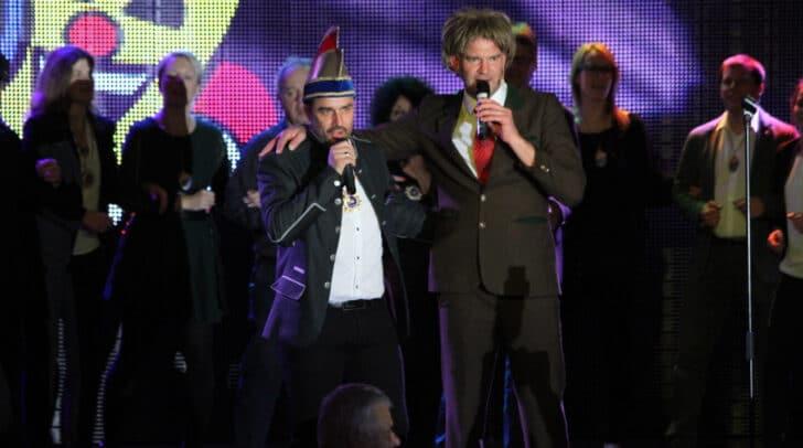 Kanzler Martin Taxer mit Udo Wenders