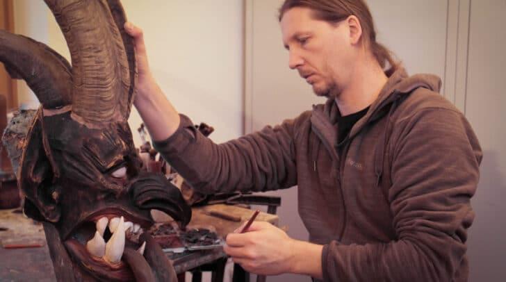 Sascha Pozewaunig bei der Arbeit.