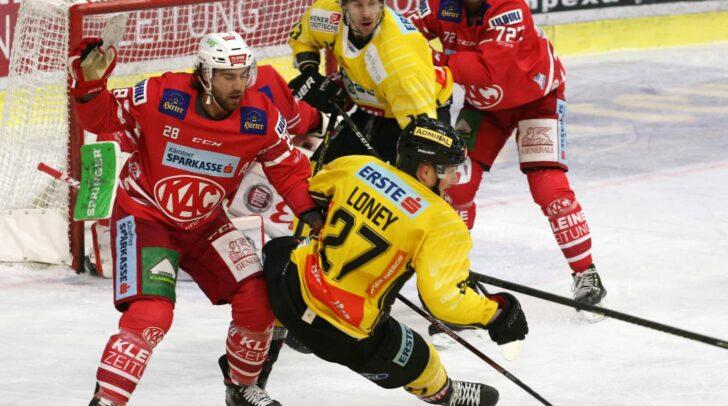EC KAC gegen die Vienna Capitals.