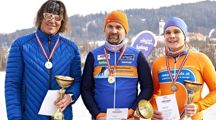 Erreichten Top-Platzierungen im Vorjahr v.l.: Udo Rainer, Leon Stadlhofer und Hanna Müller.