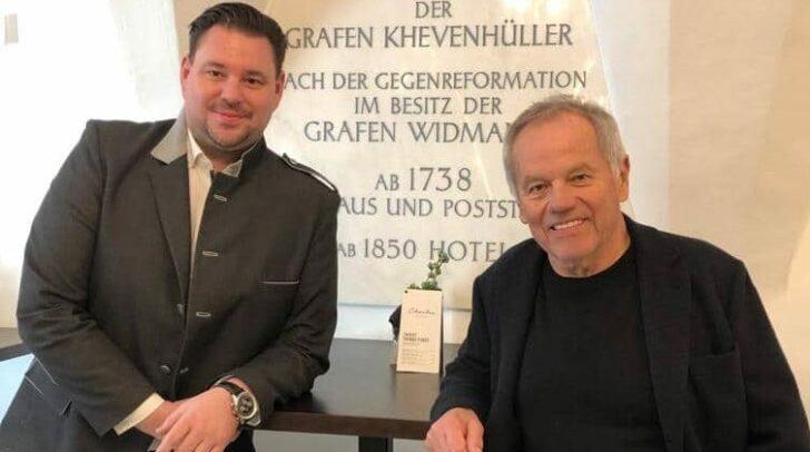 Der international bekannte Starkoch Wolfgang Puck besuchte am Wochenende das Palais26, in dessen Räumlichkeiten er einen Teil seiner Kochlehre absolvierte.