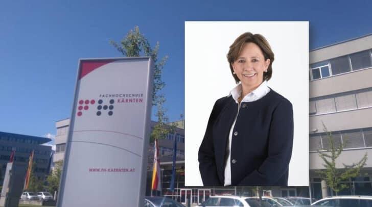 Anstelle von Werner Mussnig wurde vom Aufsichtsrat der FH Kärnten Gabriele Semmelrock-Werzer zum neuen Vorstandsmitglied bestellt.