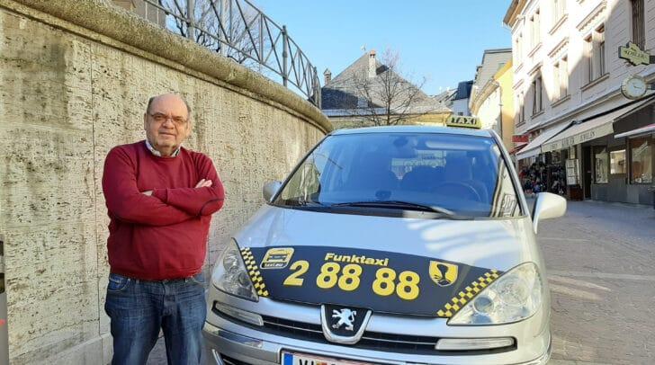 Bernhard Smole, ein Taxifahrer mit Leidenschaft