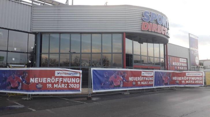 Am 19. März eröffnet die neue Intersport-Filiale in der Völkermarkter Straße!