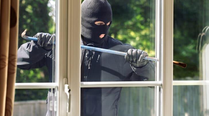Schutz vor Einbrechern…