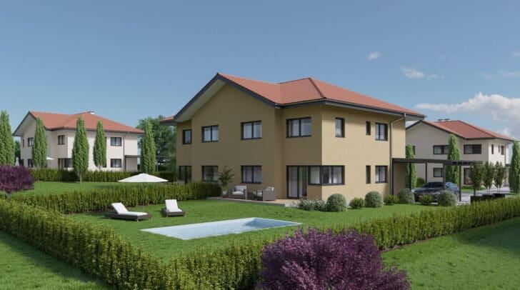 Ein Wohntraum in Ledenitzen entsteht, viel Grün, herrliche Ruhe.