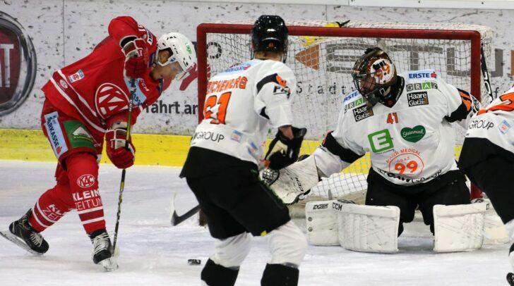KAC gegen die Graz 99ers.