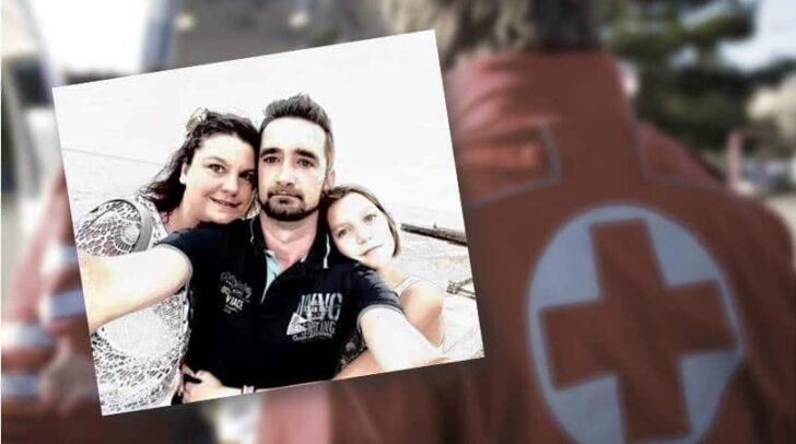 Nach ihrem schweren PKW-Unfall vor zwei Jahren feiert Petra S., am Bild mit ihrem Mann und ihrer Tochter, ihren