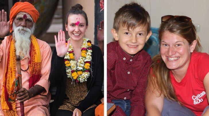 Melanie Fritzer und Theresa Sacher berichten über ihre Auslandseinsätze.