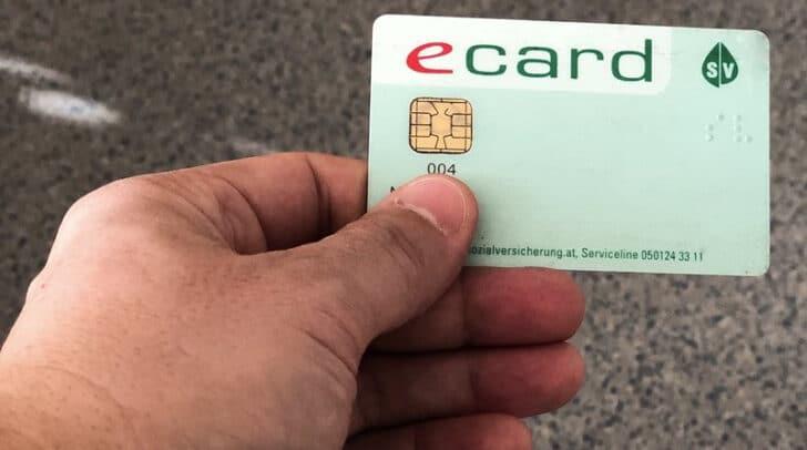 Ecards müssen seit 1. Jänner 2020 ein Foto aufweisen.
