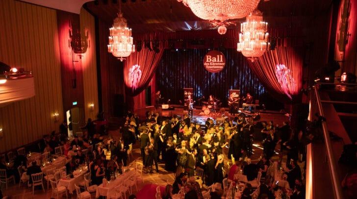 Viele Tanzbegeisterte beim 3. Kärntner Tourismusball im Klagenfurter Konzerthaus