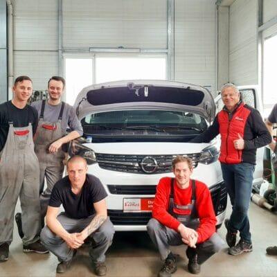 Gruppenfoto von Eisner Auto Klagenfurt