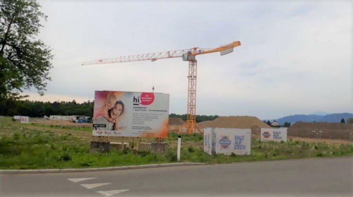 Die Bauarbeiten laufen bereits...