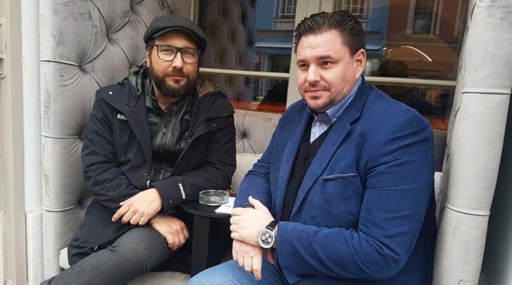 Anna Neumann Bar Inhaber Marcus Frohnwieser und Direktor des Palais 26 Mario Gruber im Interview: Wir werden für Kunden und Mitarbeiter unser Bestes tun.