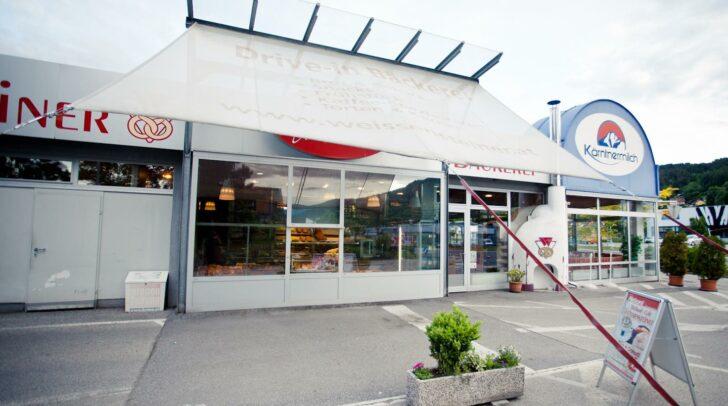 """In der Weissensteiner Filiale in Spittal wurde ein """"Drive-through"""" eingerichtet."""