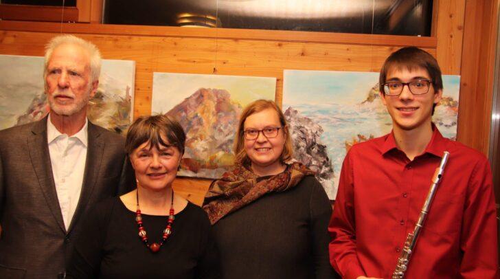 Im Bild: Katharina Urschitz, Jaka Slavkov, Karl Dertschei und Nada Zerzer