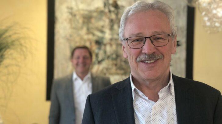 Der langjährige Finanzdirektor der Stadt Villach, Emil Pinter, verabschiedet sich in Pension