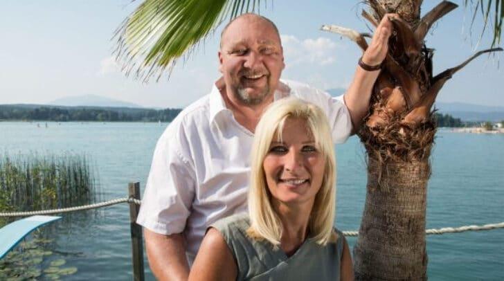 Stephanie und Günter Fink, die beiden Immobilientreuhänder sind vom Wohnprojekt begeistert.
