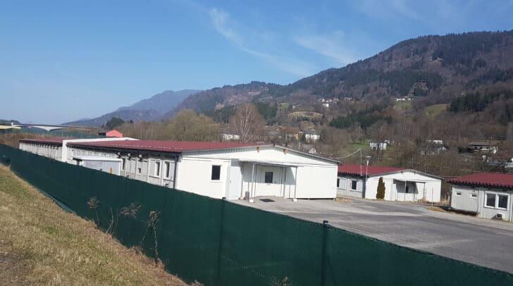 Im Asylheim Villach-Langauen wurden 70 beherbergte Personen positiv auf Covid-19 getestet.